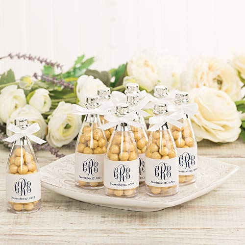Wilton Champagne Bottle Wedding and New Year's Party Favor Containers, 24pc, 4