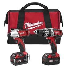 Milwaukee 2697-22 M18 18-Volt 1/2-Inch 2-Tool Combo Kit
