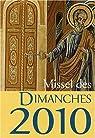 Missel des dimanche 2010 : Lectures de l'année C par Auwers