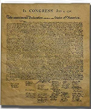 Declaration of Independence, Authentic Replica