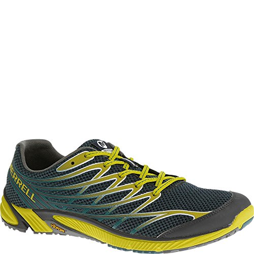 Merrell Men's Bare Access 4 Trail Running Shoe, Dragonfly/Bright Yellow, 9 M ()