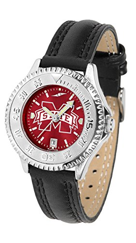 (New Linkswalker Mississippi State Bulldogs Ladies' Competitor Anochrome Watch)