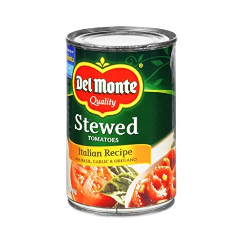 Del Monte Stewed Tomatoes with Basil, Garlic & Oregano, 14.5 oz