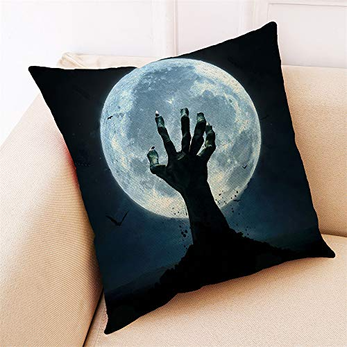 WFeieig_Halloween 18 x 18 Pillow Inserts Throw Pillow Inserts Premium Stuffer Down Alternative,Super Soft Microfiber Filled Decorative Pillow Cushion]()