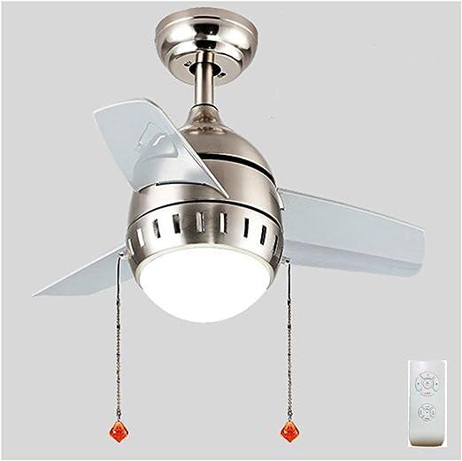 ZSSM Ventilador de Techo con lámpara Control Remoto Velocidad de ...