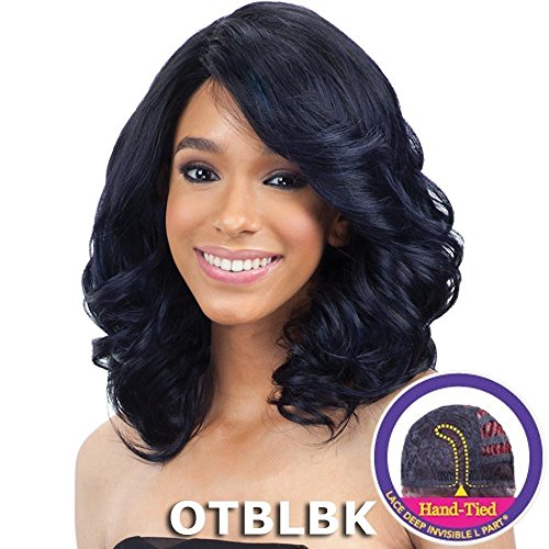 Majestic Blossoms - Freetress Equal Lace Deep Diagonal Part Lace Front Wig PETAL BLOSSOM-OTBLBK