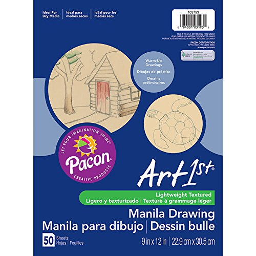 PACON Corporation Cream Manila Drawing Paper 9 X - Drawing Cream Paper