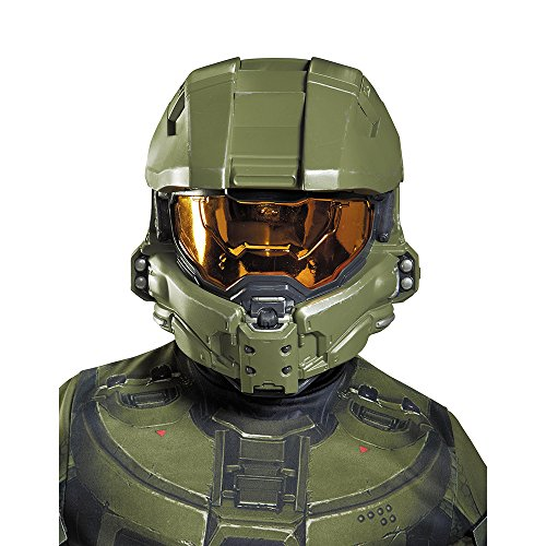 Master Cheif Helmet (Master Chief Child Half Mask)