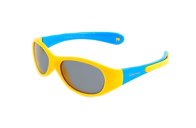 Gafas de sol CARMA modelo FLEXI KIDS SPORT LEMON niños flexible POLARIZADAS
