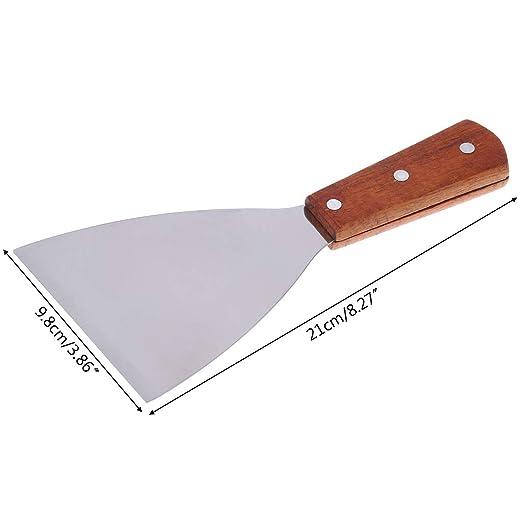 Kalttoy - Espátula triangular para repostería o pizza (acero ...