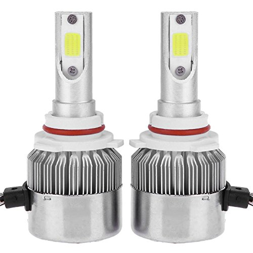 Headlamp Auto Car - 1Pair Universal 6500K 5000LM 9006 LED COB Car Auto Headlight Head Lamp Bulb