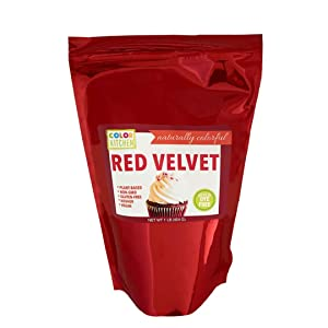 ColorKitchen Red Velvet Food Coloring Powder Naturally Sourced, Plant-Based, No Artificial Dyes (1 lb)