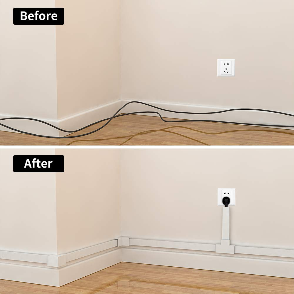 Amazon.com: Canal de gestión de cables - CMC-01 Cable ...
