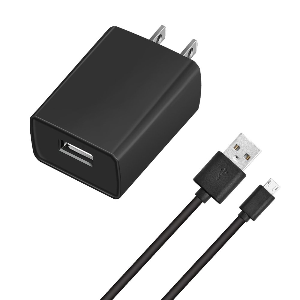 Charger for Use with Kindle, 2A Rapid Charger Adapter for Kindle Fire HD,HDX 6'' 7'' 8.9'' 9.7'',Fire 7 8 10 Tablet&Kids Edition, All New Fire, Echo Dot, Paperwhite,Oasis,Voyage with 5FT Power Cord