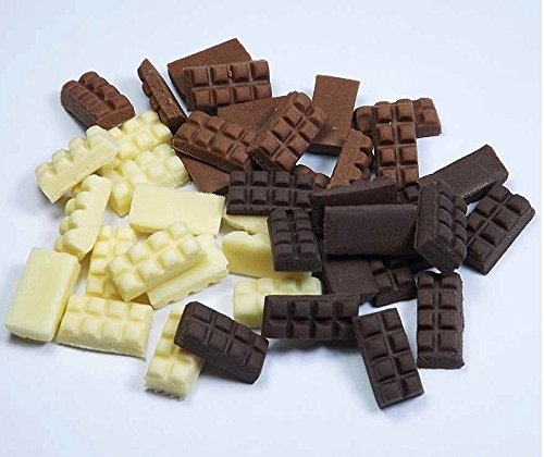 50 Mixed Dollhouse Miniature Chocolate Bars from Unbranded