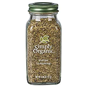 Simply Organic Italian Seasoning, Certified Organic | 0.95 oz
