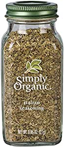 Simply Organic Italian Seasoning Large Glass, 27g