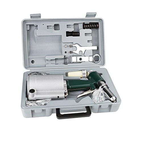 Industrial Air Hydraulic Pop Rivet Gun Pneumatic Riveter Kit Set - Pistol Riveter