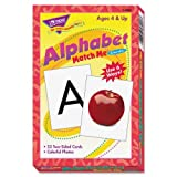 Wholesale CASE of 25 - Trend Match Me Rhyming Flash Cards-Alphabet Match Me Flash Cards, 3''x3-7/8'', 6 And Up