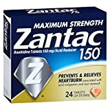 Zantac 260209 150 Max Strength Tablets, 24 Tablets