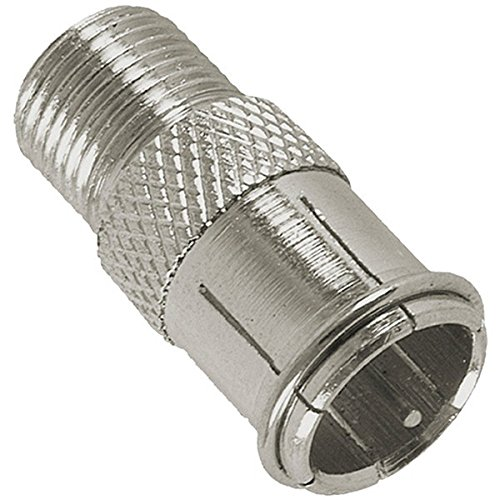 GE 35049 Push-on Coaxial Video Plug (Ge Video Adapter)