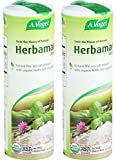 Herbamare Original - Natural Fine Sea Salt Infused with Organic Fresh Herbs and Vegetables - 4.4 Ounce (Pack of 2)