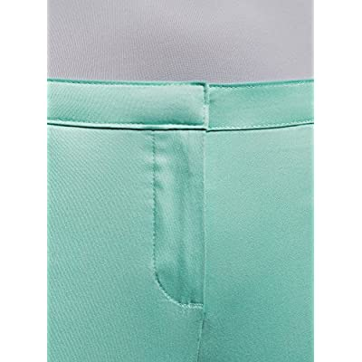 oodji Ultra Women's Basic Summer Trousers at Women's Clothing store