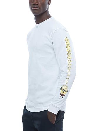 76bede80cbd Longsleeve Men Vans X Spongebob T-Shirt LS  Amazon.co.uk  Clothing