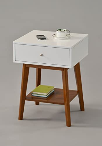 White-/-Dark-Oak-Side-End-Table-Nighstand-with-Drawer-and-Shelf-24