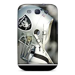 Shock-Absorbing Cell-phone Hard Covers For Galaxy S3 (gvU11018NMBm) Provide Private Custom Trendy Oakland Raiders Pictures
