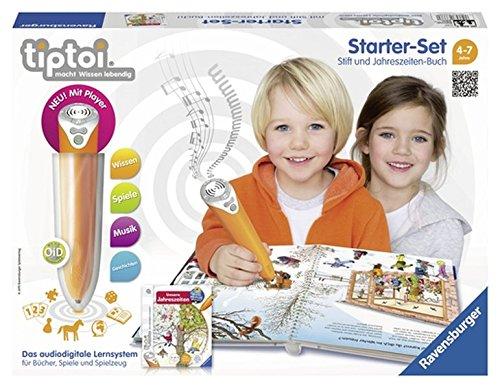 tiptoi® Starter-Set Wieso? Weshalb? Warum? Unsere Jahreszeiten: tiptoi® Stift mit Player und Buch