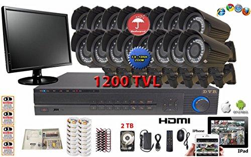 Evertech Complete Surveillance Set CCTV 32 Channel HD 960H D1 DVR
