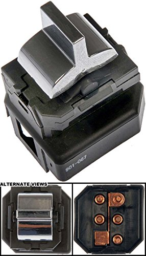 Buick Lesabre Window 1999 (APDTY 012178 Power Window Switch Single Button Fits Select 1991-1999 Buick & Oldsmobile Vehicles (See Description For Fitment; Replaces 25558087, 19209372))