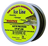 Cheap Woodstock Line 12-TU-50-20-MTR 50-Yard Metered Tip-Up Line 20 No., Black/Tan 12/Disp