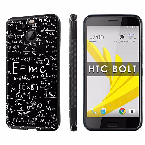 HTC BOLT / HTC 10 EVO [NakedShield] [Black] Ultra Slim Cover Case - [Useful Formulas] for HTC BOLT [5.5