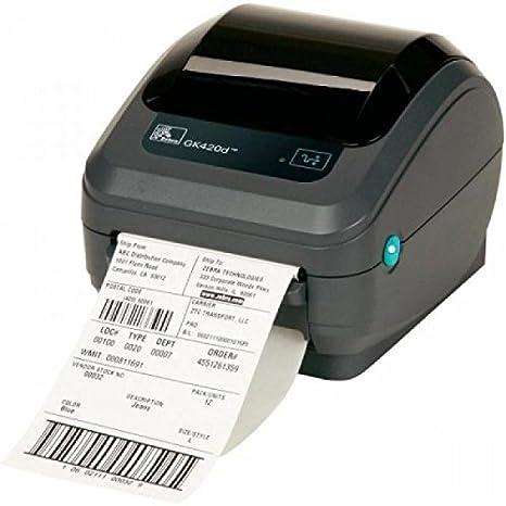 Zebra GK420d - Impresora de Etiquetas (Térmica Directa, 203 x 203 ...