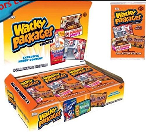 (2013 'Topps Wacky Packages' Series 10 Collector's Edition Box (14 pk))
