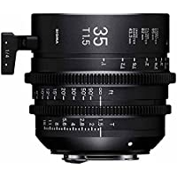 Sigma T1.5 Cine 35mm Full Frame High Speed Prime Lens with Canon EF Mount, 1 Close Focus Distance
