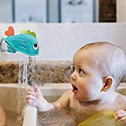 Luerme Faucet Safety Cover Bath Spout Cover Bathtub Faucet Extender Protector Guard Anti-Collision Bumper Bath Toys Universal Fit for Baby Infant Toddlers