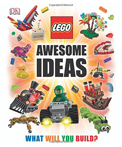 Book cover from LEGO® Awesome Ideas by Daniel Lipkowitz