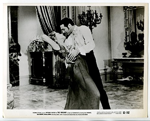 Movie Photo  The Brigand 8 X10  Black And White Promo Still Anthony Dexter Gale Robbins Fn