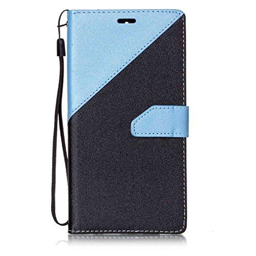 Ultra Slim Case para Huawei Mate 9 Funda Libro Suave - Sunroyal ® PU Leather Cuero Huawei Mate 9 Bookstyle Cobertura Wallet Case Con Flip Cover Cierre Magnético,Función de Soporte Billetera con Tapa p A-08