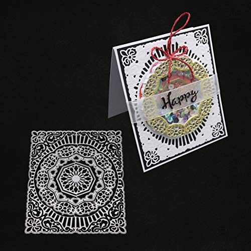 Ode_Joy Circle Cutter Molde Corte Dies DIY Papel Scrapbooking Photo álbum Plantilla, Acero al Carbono Cutting Plantillas Manualidades Repujado álbum ...