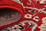 Unique Loom Kashan Collection Red 3 x 16 Runner