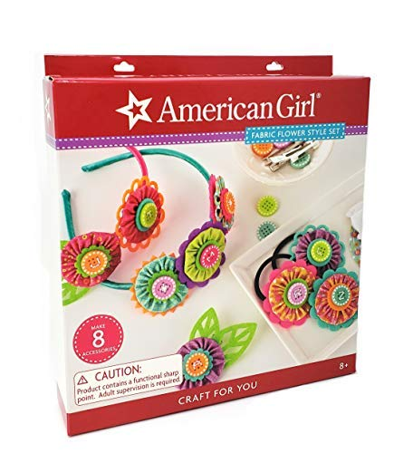 American Girl Crafts Flower Headbands Arts and Crafts for Girls, 71pc.