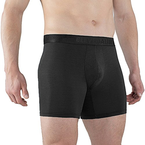 CLEVEDAUR Men's Underwear Sexy Lenzing Micro Modal Boxer Briefs Intense Power Mens Boxers Pack Underpants For Men Black-XXL (Power Boxer Stretch)