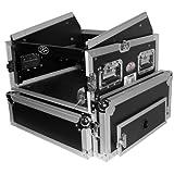 ProX Cases T-4MRSS 4U Space Amp 10U Slanted Top Mixer DJ Combo Road Gig Ready Flight Case