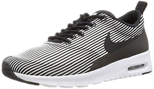 Nike W Air Max Thea Kjcrd, Scarpe da Fitness Donna Nero (Black / White Metallic-argento)