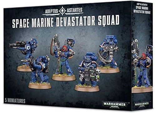 Space Marine Devastator Squad (2015) by (Space Marine Terminator)