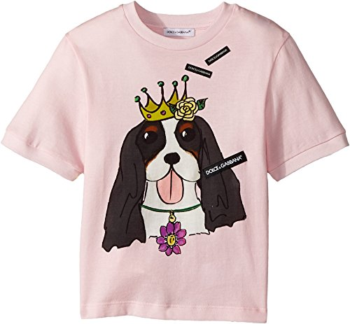 Dolce & Gabbana Kids Baby Girl's T-Shirt (Toddler/Little Kids) Pink Print 3T by Dolce & Gabbana